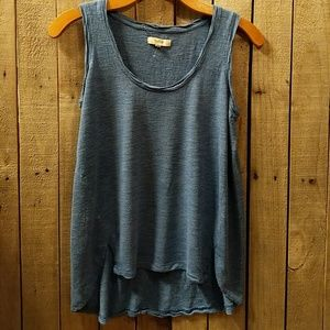 Madewell  high low tank top XS